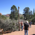March 20: Raising the Telegraph Pole